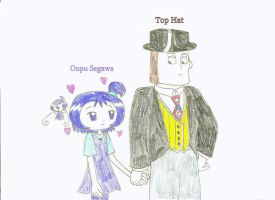 TUGS+Ojamajo - Onpu Segawa and Top Hat by dannichangirl