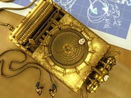 Steampunk iPod 2 by otas32