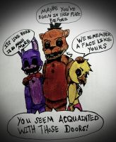 5 Nights at Freddy's Fan Theory Timeline by MadhouseFunhouse