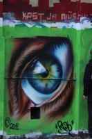 Graffiti - Eye by sandmannder3
