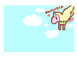 Rainicorn by saranghae012