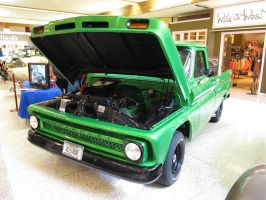 Green Chevy by KateKannibal