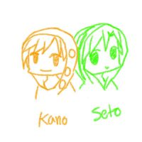 Kano and Seto - Gif by SusyKitty1