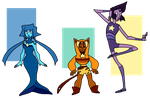 More Gem Adopts (1 left) by FrostedSouls