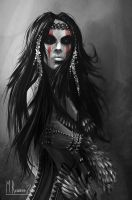 Tribal Woman by Butteredbap