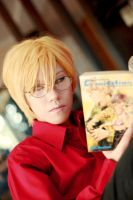 GRAVITATION Yuki Eiri Cosplay 01 by ero-de