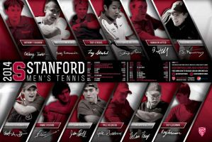 stanford mens tennis by Satansgoalie