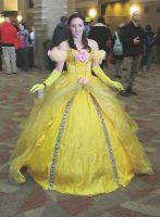 Belle waiting for her Escort by smithers456