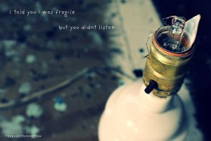 Day 28 Fragile. by hopefortommorow