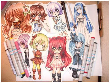 Paigeeworld Chibis and Stuff by Lettelira