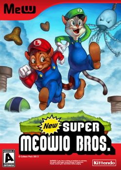 Super Meowio Brothers by WieldstheKey