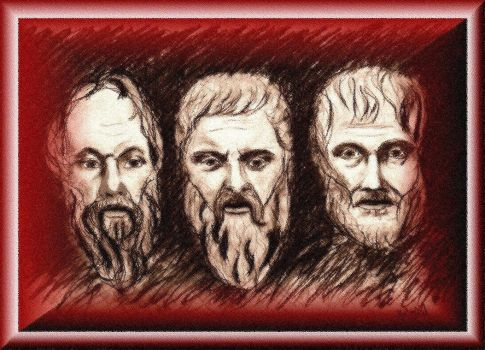 The Three Philosophers by bill56