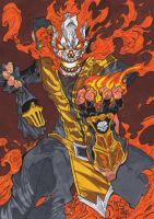 Mortal Kombat - Scorpion Fire and Flames! by GabRed-Hat