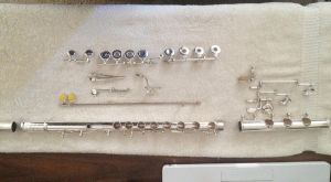Cleaning up my new flute! by EdwardG101694