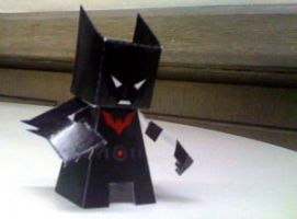 Batman Beyond by papertoyadventures