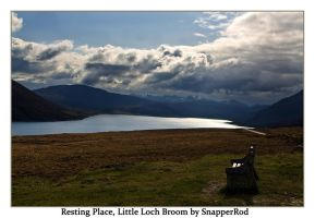 A rest at Little Loch Broom by SnapperRod