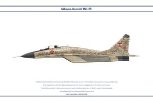 MiG 29 Lebanon 3 by WS-Clave