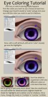 Eye Coloring Tutorial part 2 by sisaat