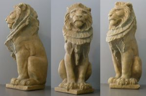 Lion Statue by dull-stock