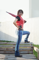 Claire Redfield cosplay by Vicky-Redfield