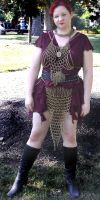 Chainmail Top and Skirt by MorganCrone
