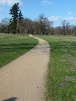path through the park by two-ladies-stocks
