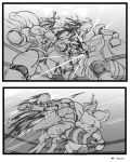 :Comission-BeetleVsWasp-PAGE 1 by WarlockMaster