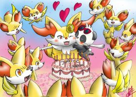 Special day braixen by fullfolka