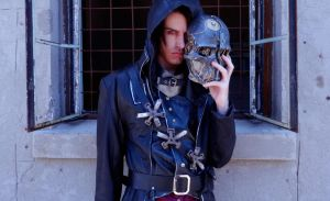Corvo Attano Cosplay - Dishonored by Aicosu