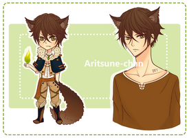 [CLOSED] Adoptable Kemonomimi Boy 2(updated) by Aritsune-chan