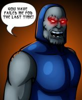 Darkseid is Angry by IMForeman