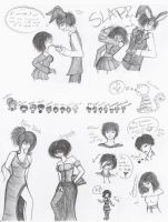 What the- MORE DOODLES???? by MadRoseKai