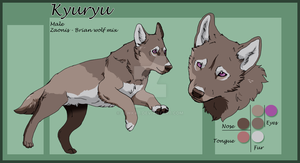 Kyuryu___reference_sheet by LewKat
