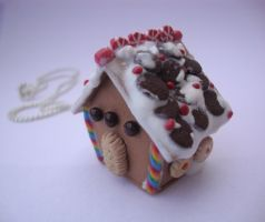 Gingerbread house by Ana095