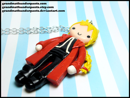 Edward Necklace by GrandmaThunderpants