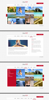 Photographer's website layout by malkowitch