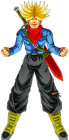 Future Trunks SS Rage by alexiscabo1