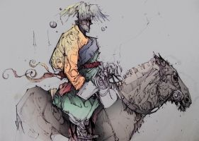horseman, color by Mims1105
