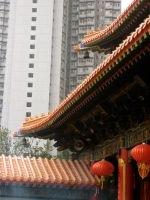 Temple amongst the city by kimmyjune