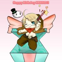 Happy Birthday Haxelo by Sekairi-Miyano