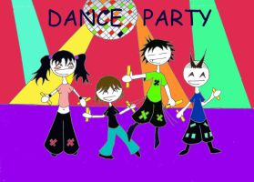 dance party 3 by disco-overdose