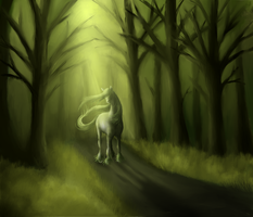 Forest Horse by Demeritas