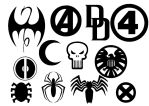 Marvel Hero Insignia by Geekbot71