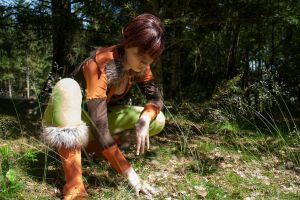 Elfquest - on the hunt by Gwan-chan