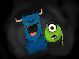 Monsters Inc. - colour by andy15140