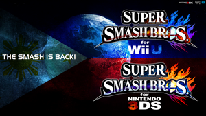 Super Smash Bros. Wii U/3DS Logo Wallpaper #87 by TheWolfBunny