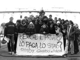 Gramsci in piazza by coitoz