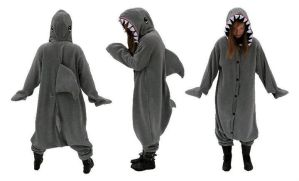Custom Shark Kigurumi by diemortalroom