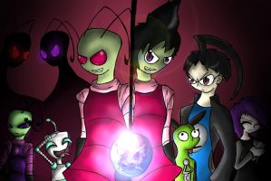 Invader Zim ::Contest:: by xJen-Jenx