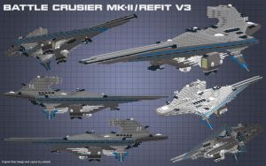 Battle Crusier MK II RF 3 by usstodd